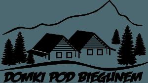 logo domki pod biegunem czarne