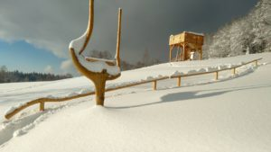 zima w Domkach Pod Biegunem
